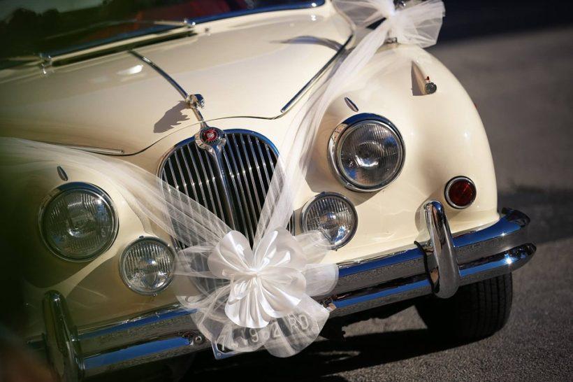 addobbi auto sposi
