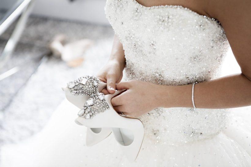 scegliere scarpe da sposa
