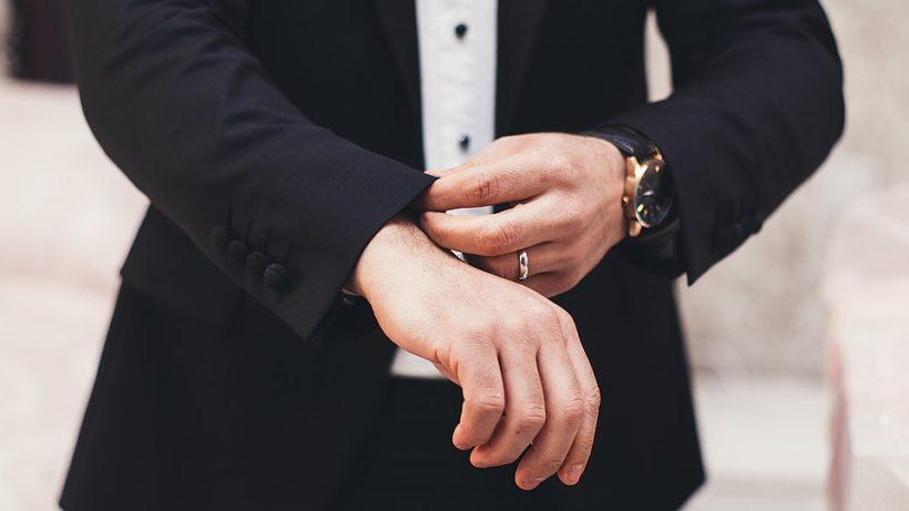 accessori sposo