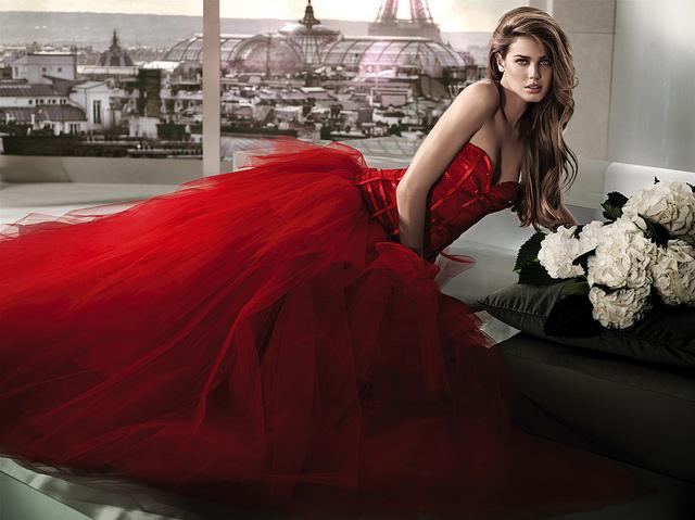 abito da sposa colorato come sceglierlo
