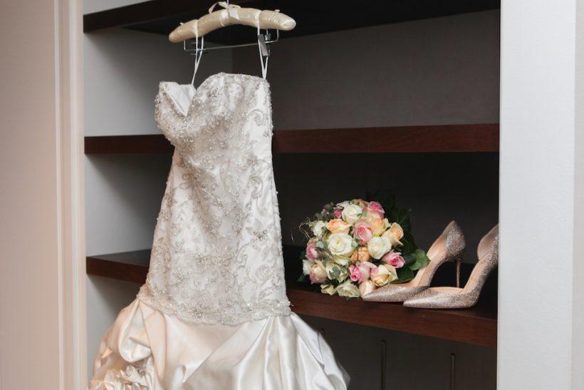 come conservare abito da sposa